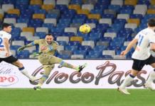 David Ospina fue una muralla para el Napoli y evitó la caída de su valla en el duelo contra Atalanta por la semifinal de la Copa de Italia